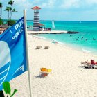 bandera-azul-playa-la-laguna-dominicus-bayahibe1